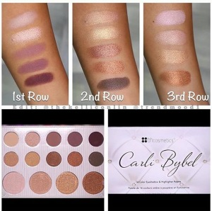 BH Teams up with Carli Bybel for her NEW PALETTE!!! | Lovenmeee