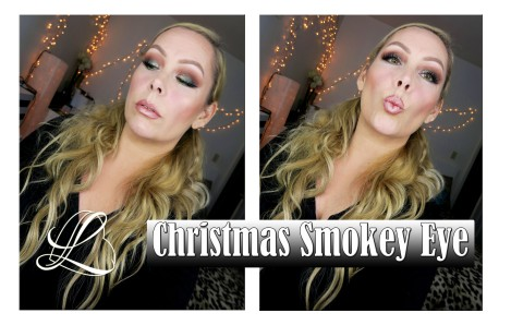 Christmas Smokey Eye